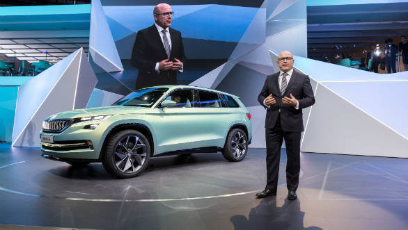 Skoda Auto CEO Bernhard Maier voted brand manager 2017