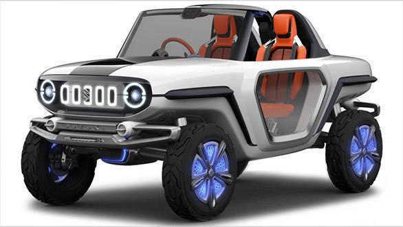 Tokyo motor show 2017: Suzuki e-Survivor SUV concept unveiled