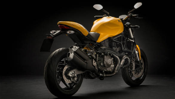 2018 Ducati Monster 821 Launched In India At Rs 9 51 Lakh Overdrive