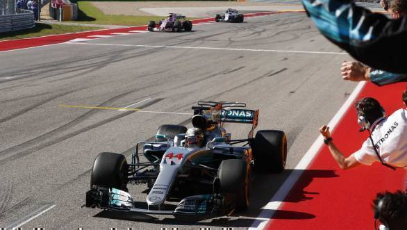F1 2017: Lewis Hamilton wins United States Grand Prix