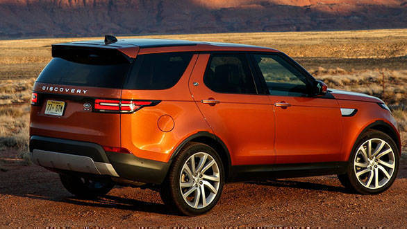 Land Rover Discovery officially unveiled in India