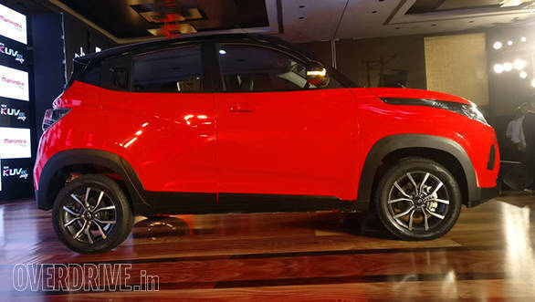 New Mahindra KUV100 NXT arrives at dealership ahead of launch