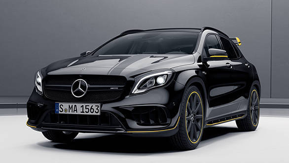 2017 Mercedes-AMG CLA45 and GLA45 launched in India at Rs 75.2 lakh and Rs 77.85 lakh respectively