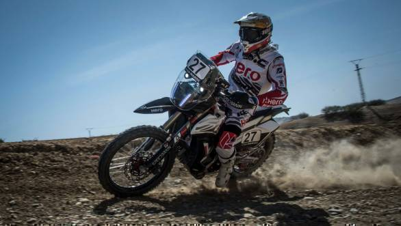 2017 OiLibya Rally of Morocco: Hero MotoSports rider JRod ends Prologue in fifth position