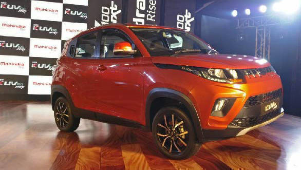 2017 Mahindra KUV100 NXT facelifted compact SUV launched in India at Rs 4.39 lakh
