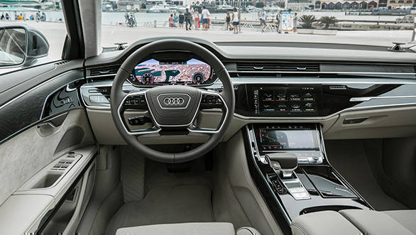 2018 Audi A8 A8 L Image Gallery Overdrive