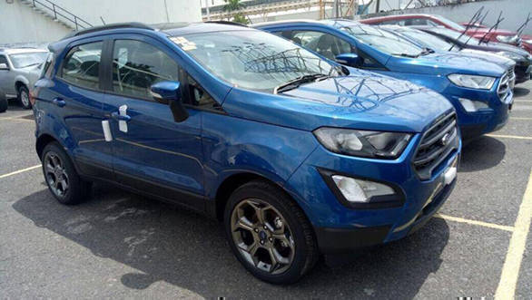 2018 ford ecosport. simple ford spied new ford ecosport titanium s and 2018 ford ecosport