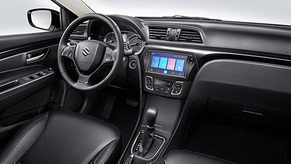 india bound maruti suzuki ciaz facelift suzuki alivio images revealed overdrive. Black Bedroom Furniture Sets. Home Design Ideas