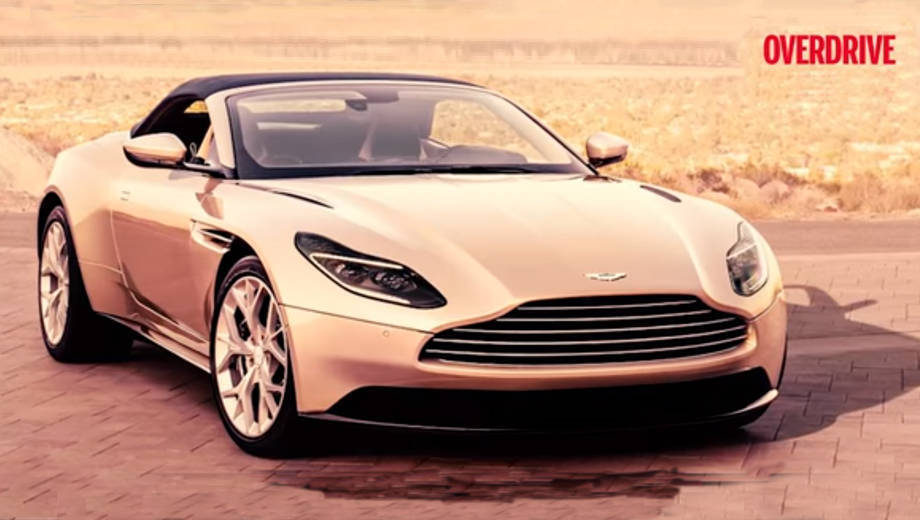 2018 Aston Martin DB 11 Volante first look