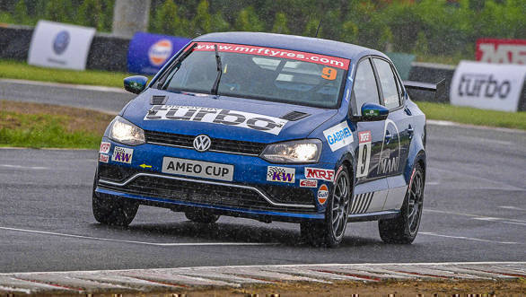 Volkswagen Ameo Cup Finale: Wet, no threat!