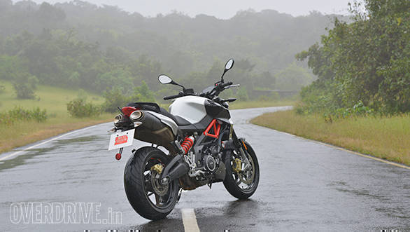 2017 aprilia shiver 900 road test review overdrive. Black Bedroom Furniture Sets. Home Design Ideas