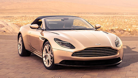 2018 Aston Martin DB 11 Volante, drop top gorgeous GT car is here!