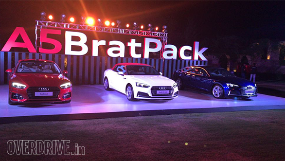2018 Audi A5 Sportback (Rs 54.02 lakh), A5 Cabriolet (Rs 67.15 lakh) and S5 Sportback (Rs 70.60 lakh) launched in India