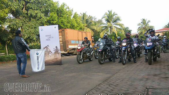 First ever BMW Motorrad International GS Trophy qualifier begins in Goa