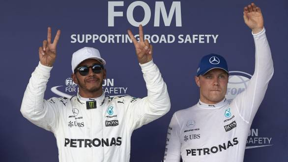 F1 2017: Hamilton claims United States Grand Prix pole