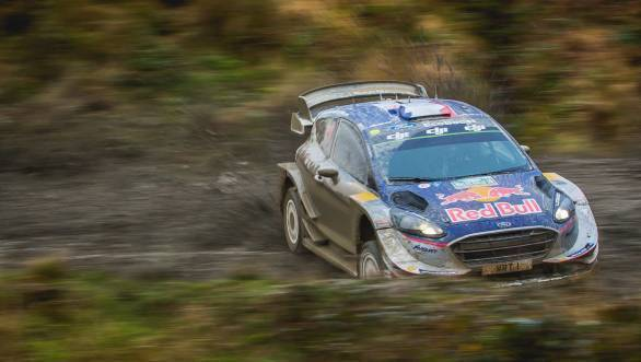 WRC 2017: Ogier wins fifth consecutive title as Evans claims victory at Wales Rally GB