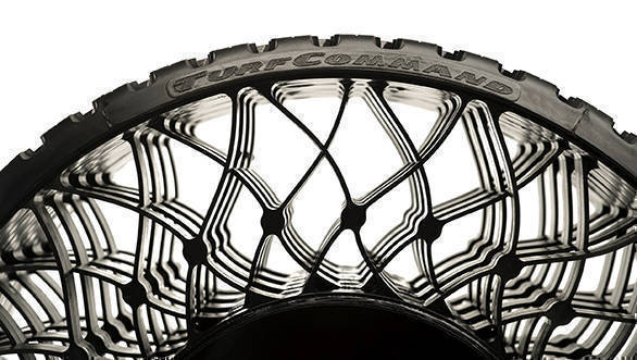 Goodyear Airless tyre technology to debut in early 2018