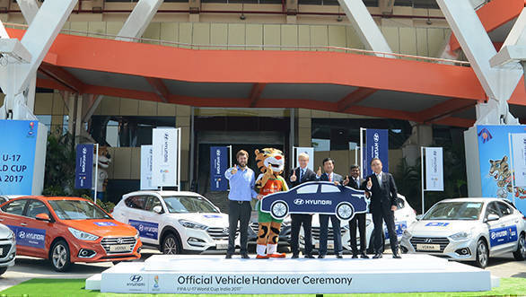 Hyundai India to be the official partner of  FIFA U17 World Cup Tournament