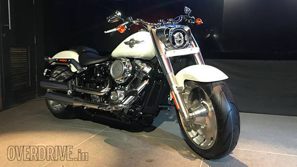 2018 harley davidson fat boy launched in india image gallery overdrive. Black Bedroom Furniture Sets. Home Design Ideas