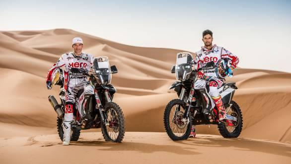 Hero MotoSports Team Rally set to tackle OiLibya Rally of Morocco
