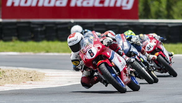 2017 Indian National Motorcycle Racing Championship: Young and younger