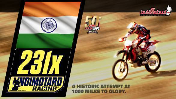 IndiMotard Racing to become the first Indian team to compete in the Baja 1000