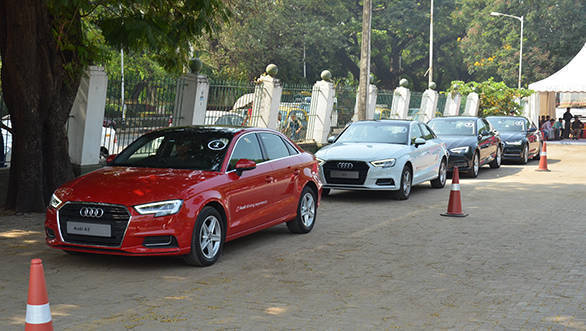 Audi India organises Weekender at RWITC in Mumbai