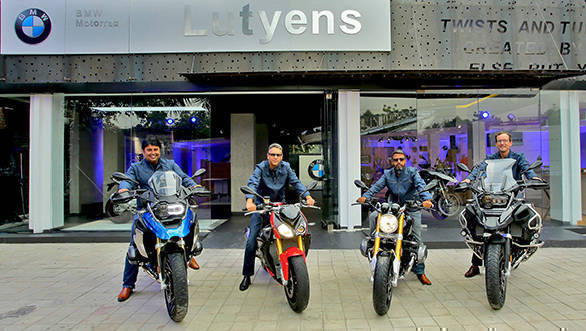 BMW Motorrad gets new address in Delhi