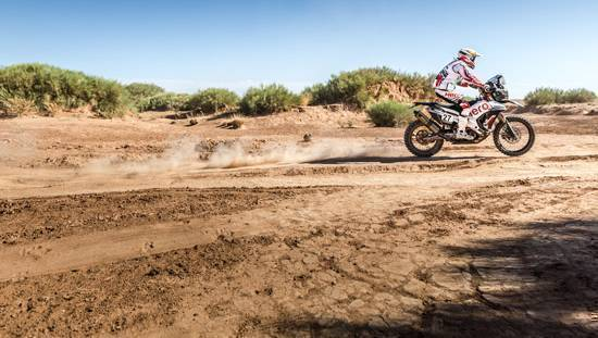 2017 OiLibya Rally of Morocco: Hero MotoSports rider JRod takes eleventh place in Stage 1