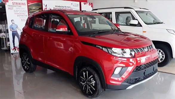 Mahindra KUV100 NXT to be launched in India on October 10