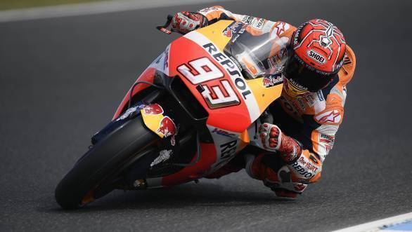MotoGP 2017: Marc Marquez takes fourth consecutive Phillip Island pole