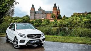 Feature: 2017 Mercedes-Benz GLE 400 - The castle run