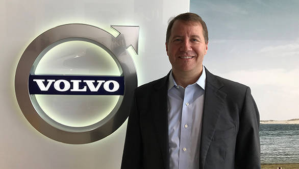 Charles Frump appointed as the new Managing Director at Volvo India