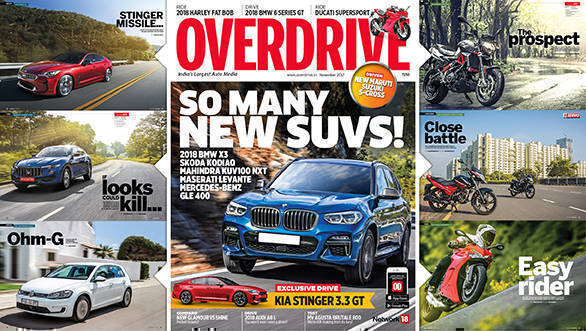 The November 2017 issue of OVERDRIVE is now out on stands!