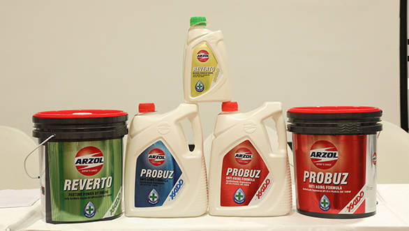 Probuz and Reverto lubricants launched in india