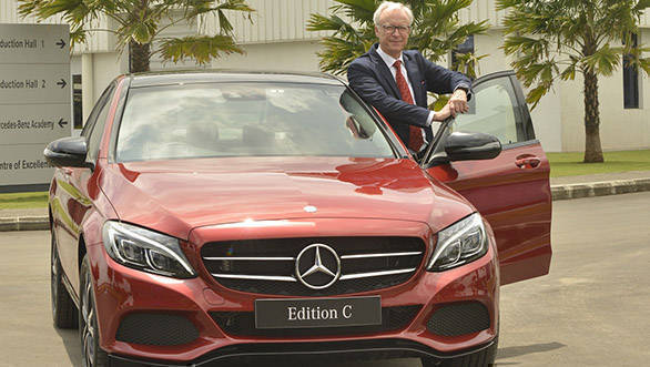 Mercedes-Benz C-Class Edition C launched in India at Rs 42.54 lakh