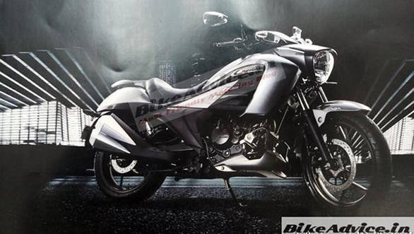 Suzuki Intruder 150 to be launched in India on November 7, images leaked
