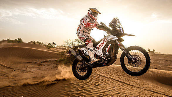 2017 OiLibya Rally of Morocco: Hero MotoSports rider JRod finishes seventh overall, CS Santosh 15th
