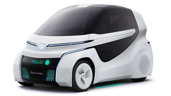 Tokyo Motor Show 2017 Toyota Concept I Ride Two Seater Ideal For