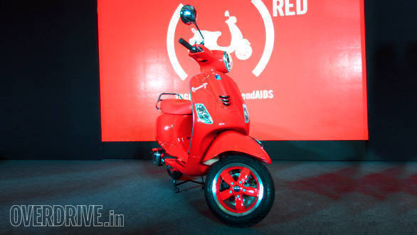 2017 Vespa RED launched in India at Rs 87,000