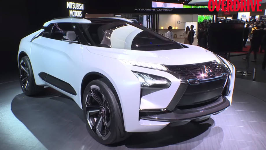 Mitsubishi e-Evolution Concept - 2017 Tokyo Motor Show
