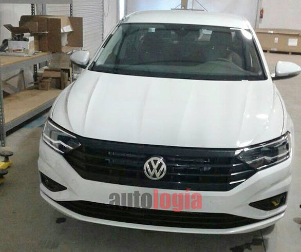 Spotted India Bound New Gen Volkswagen Jetta To Debut In 2018