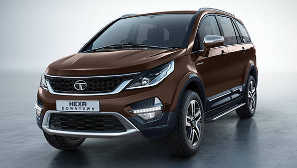 Tata Hexa Downtown Urban Edition revealed before launch
