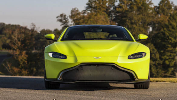 The 510ps Aston Martin Vantage Has Been Launched In India At Rs 2 95