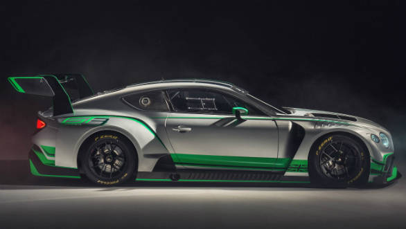 Bentley's 550PS Continental GT3 race car is here!