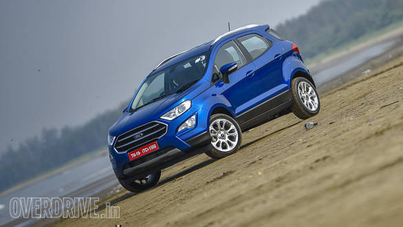 2018 Ford Ecosport Suv Launched In India At Same Old Price Of Rs