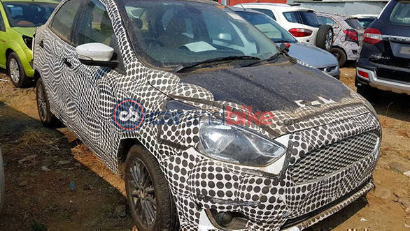 2018 Ford Figo caught testing in India, to get new 1.5-litre three-cylinder petrol motor?