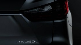 2017 Los Angeles Auto Show: All-new Lexus RXL SUV to debut on November 29