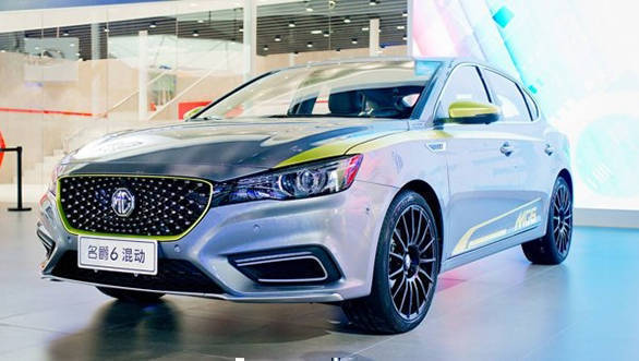 New-gen MG6 hybrid sedan showcased in China, India bound?
