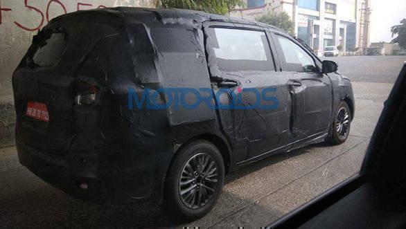 Spied: 2018 Maruti Suzuki Ertiga caught testing